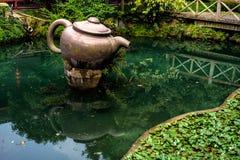 Usine de thé Hangzhou Photos libres de droits