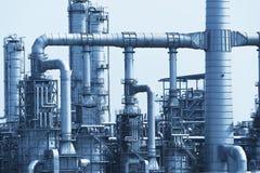 Usine de traitement de gaz Paysage Photographie stock