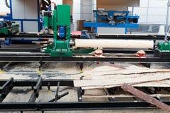 Usine de travail du bois Photo libre de droits