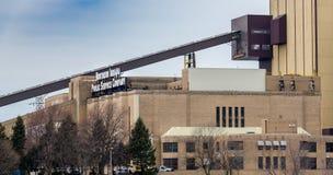 Usine du nord d'Indiana Public Service Company Images libres de droits