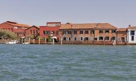 Usine en verre de Ducale sur l'île Murano, Venise, Italie Photographie stock libre de droits
