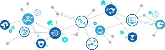 Usine futée, industrie futée, concept d'iot : grandes solutions de données/nuage/production/simulation innovatrices illustration libre de droits