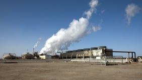 Usine géothermique la Californie images stock