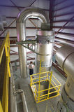 Usine hydraulique Photo libre de droits