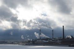 usine industrielle Image libre de droits