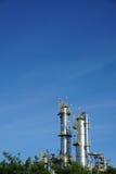 Usine pétrochimique Image libre de droits