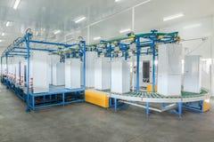 Usine pour la production des réfrigérateurs photos libres de droits