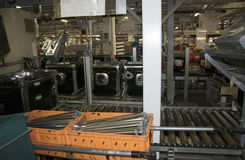 Usine - production de lave-vaisselle Image libre de droits