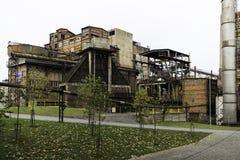 Usine sidérurgique Photo stock