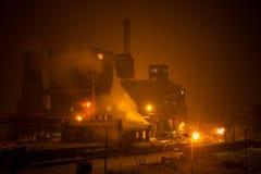 usine sidérurgique Image stock