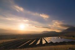 Usine solaire Photographie stock libre de droits