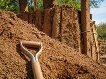 Usine traditionnelle de brique Image libre de droits