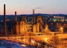 Usine un mus e en russie image libre de droits for Eclairage exterieur usine