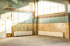 Usine vide Photos libres de droits