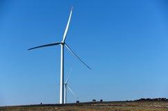 Usines d'énergie éolienne Image stock