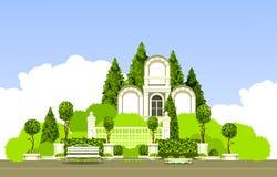 Usines de jardin de parc Images stock