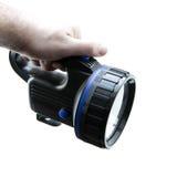 Using flashlight Royalty Free Stock Photos