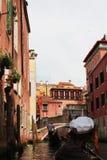 Using gondola Royalty Free Stock Image