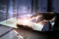 Using innovative technologies Royalty Free Stock Image