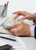Using modern gadget Stock Image