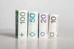 Using money - finances - loan - Poland Royalty Free Stock Photo