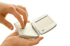 Using PDA stock photo
