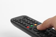 Using a Remote Control Stock Photography