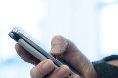 Using smart-phone Stock Photos