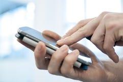 Using smart-phone Stock Photography