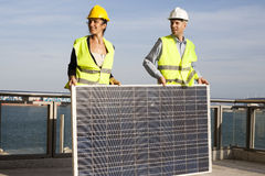 Using solar energy Stock Photography
