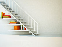 Using a space under the stairs Royalty Free Stock Photo