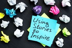Free Using Stories To Inspire. Influence Of Storytelling Royalty Free Stock Photography - 154541637