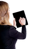 Using touchpad Stock Photography
