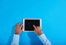 Using touchpad Stock Images