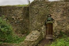 Usk城堡 免版税图库摄影
