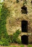Usk城堡 图库摄影