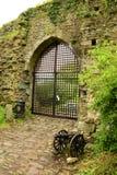 Usk城堡 库存照片