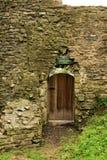 Usk城堡 免版税库存图片