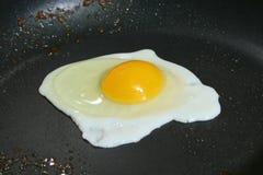 usmażyć jajko Zdjęcia Royalty Free