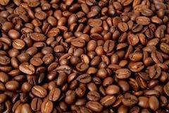 usmażyć ziarna kawy tła zrobić fotografia stock