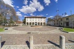 Usmate Velate, casa de campo histórica Scaccabarozzi Foto de Stock