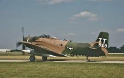USN道格拉斯AD-4N4 BuNo 2003年8月126959 免版税库存照片