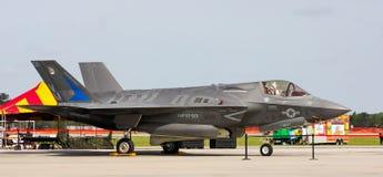 USN F-35 fighter jet. Stock Image