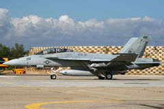 USN Hornet Στοκ Εικόνες