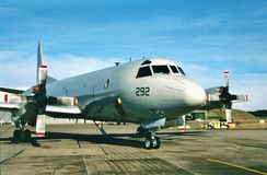 USN Lockheed P-3A Orian Anty Podwodny BuNo 160292 Obraz Stock