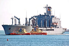 The USNS Guadalupe Royalty Free Stock Image