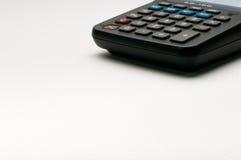 Uso da calculadora no funcionamento do negócio Fotografia de Stock Royalty Free