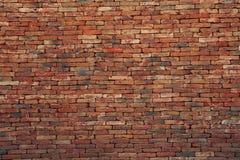 Uso da parede de tijolo de Brown como o contexto de múltiplos propósitos do fundo foto de stock