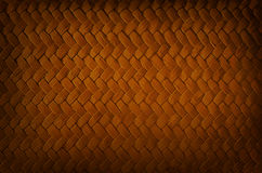Uso da textura do vime como o fundo Fotografia de Stock