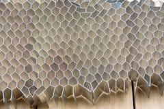 Uso de alumínio do pente do mel para a indústria automóvel foto de stock royalty free